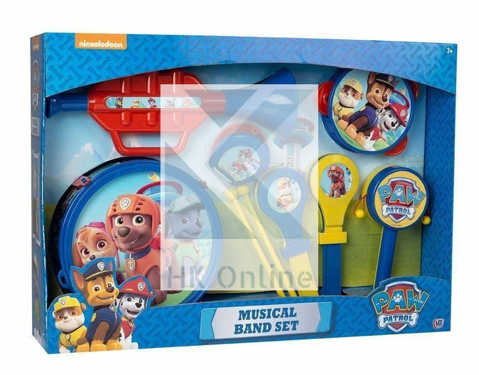 Children's Patrol MUSICAL BAND Playset