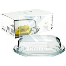 Load image into Gallery viewer, Deluxe Glass BUTTER DISH -Dome Glass Lid