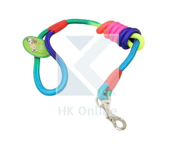 Rainbow Bunty DOG LEAD -Easy Clip & Release, 1.2m