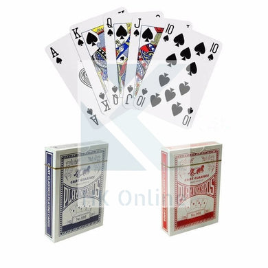 Pack of Handy COATED PLAYING CARDS -Easy To Read, Great Feel