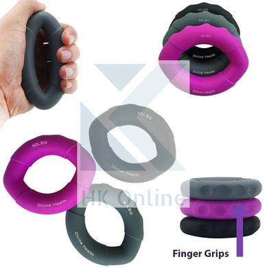 3 HAND GRIP Strengthener -WRIST & FOREARM Exerciser, BOXING, 30lbs, 40lbs, 50lbs