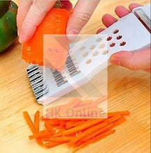 Load image into Gallery viewer, 5 in 1 Kitchen FRUIT & VEGETABLE SLICER -Peeler, Shredder, Carving, Grater