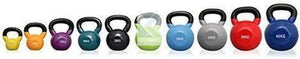 6kg Soft Touch Vinyl Coated Cast Iron KETTLEBELL -Sumo Squats, Walking Lunges