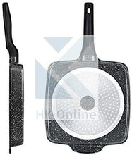 Load image into Gallery viewer, 3 SECTION DIVIDER Non Stick Frying Pan -Ultimate Marble Coated
