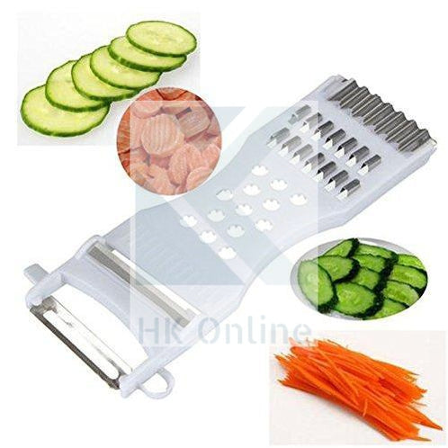 5 in 1 Kitchen FRUIT & VEGETABLE SLICER -Peeler, Shredder, Carving, Grater