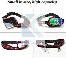 Load image into Gallery viewer, Running Cycling GYM Belt, Twin Pocket Waist Pack FITNESS BELT, Money, Keys & Reusable Sports WATER BOTTLE