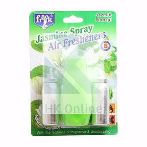Mini Air Freshener DIFFUSER SPRAY -Set of Refills, Wall Mountable