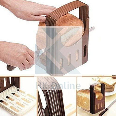 Collapsible BREAD SLICER -Loaf Cutter, Slicing Guide, 4 Variable Thickness Options