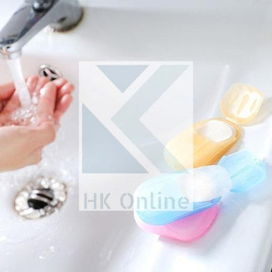 PK 20 Hygienic Disposable SOAP SHEETS -Travel Soap, Handbag, Holiday, Journey
