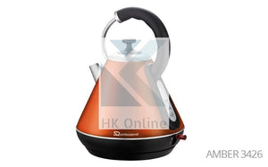 Pro Fast Boil Amber Gems CORDLESS KETTLE -2200W, 360 Degree, Removable Filter