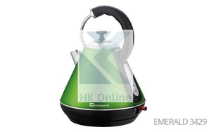 Pro Fast Boil Emerald Gems CORDLESS KETTLE -2200W, 360 Degree, Removable Filter
