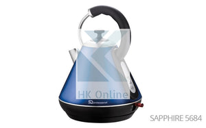 Pro Fast Boil Sapphire Gems CORDLESS KETTLE -2200W, 360 Degree, Removable Filter