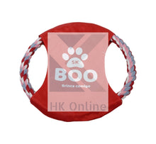 Load image into Gallery viewer, Dog Frisbee Style ROPE TEETHING RING -Dog Chew Toy, Puppy Fun, Fetch & Play 20cm