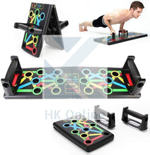 Load image into Gallery viewer, 14 in 1 Strength Press PUSH UP BOARD -Fitness, Chest, Abs, Muscle, Arms, Easy Fold