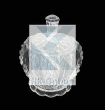 Load image into Gallery viewer, Crystal Cut Glass SUGAR & CANDY BOWL-Beautifully Blown Table Piece