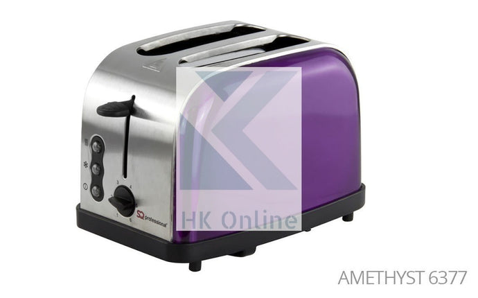 2 Slot Amethyst Pro LEGACY TOASTER -Toast From Frozen, Reheat, Variable Browning Control