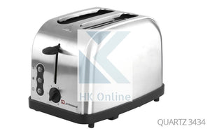 2 Slot Quartz Pro LEGACY TOASTER -Toast From Frozen, Reheat, Variable Browning Control