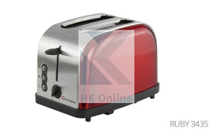 2 Slot Ruby Pro LEGACY TOASTER -Toast From Frozen, Reheat, Variable Browning Control