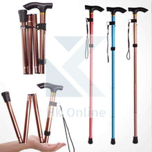 Load image into Gallery viewer, Adjustable Aluminum WALKING STICK -Lightweight Foldable Cane