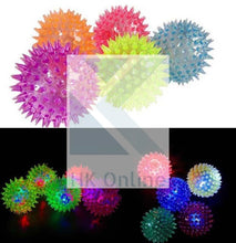 Load image into Gallery viewer, Flashing LED SPIKY BALL -Sensory Toy, Light & Sound, Fiddle, Fidget, Stress, Autism, ADHD