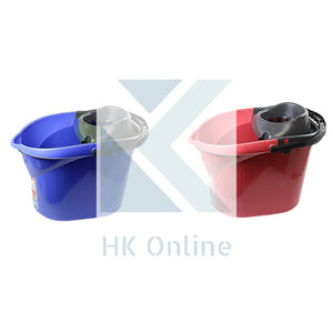 13 Litre SUPER WRINGER MOP BUCKET -Easy Carry Handle