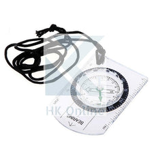Load image into Gallery viewer, Handy Outdoor CAMPING, HIKING, BASEPLATE COMPASS -Lanyard Compass, Ruler, Scale