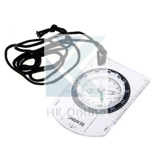 Handy Outdoor CAMPING, HIKING, BASEPLATE COMPASS -Lanyard Compass, Ruler, Scale