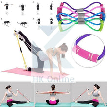 Load image into Gallery viewer, Ultra Toner YOGA RESISTANCE TUBE Bands -Body Trimmer, Pilates, Glutes, Chest & Arms