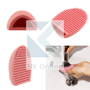 Silicone BRUSH EGG -Make Up Brush Cleaner, Easy Use, Easy Rinse