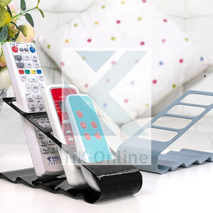 4 Slot REMOTE CONTROL HOLDER -Docking Stand, Keep All Device Remotes Together