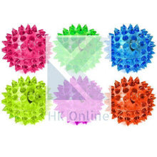 Load image into Gallery viewer, Flashing Light Up LED SPIKEY BALL -Sensory Toy, ADHD