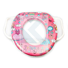 Load image into Gallery viewer, Toddler TOILET TRAINING SEAT -Grip Handles, Padded Potty Seat
