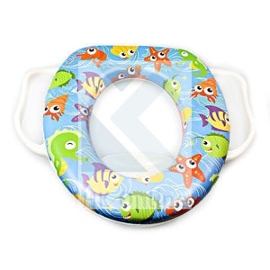 Toddler TOILET TRAINING SEAT -Grip Handles, Padded Potty Seat