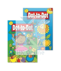 Children's Fun DOT TO DOT Activity Book -Learning & Travel Fun