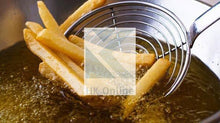 Load image into Gallery viewer, Stainless Steel SKIMMER & FRYING STRAINER LADLE -Long Handled, Fry Safely