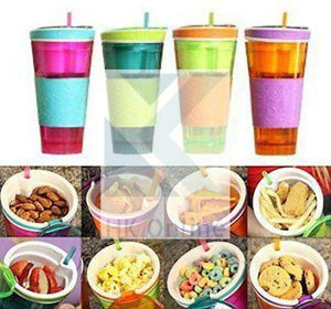 Snackeez 2 in 1 SNACK & DRINK CUP -Parties, Travel Cup