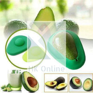 Set 2 Silicone Avocado FOOD COVERS -Reusable Fridge Storage