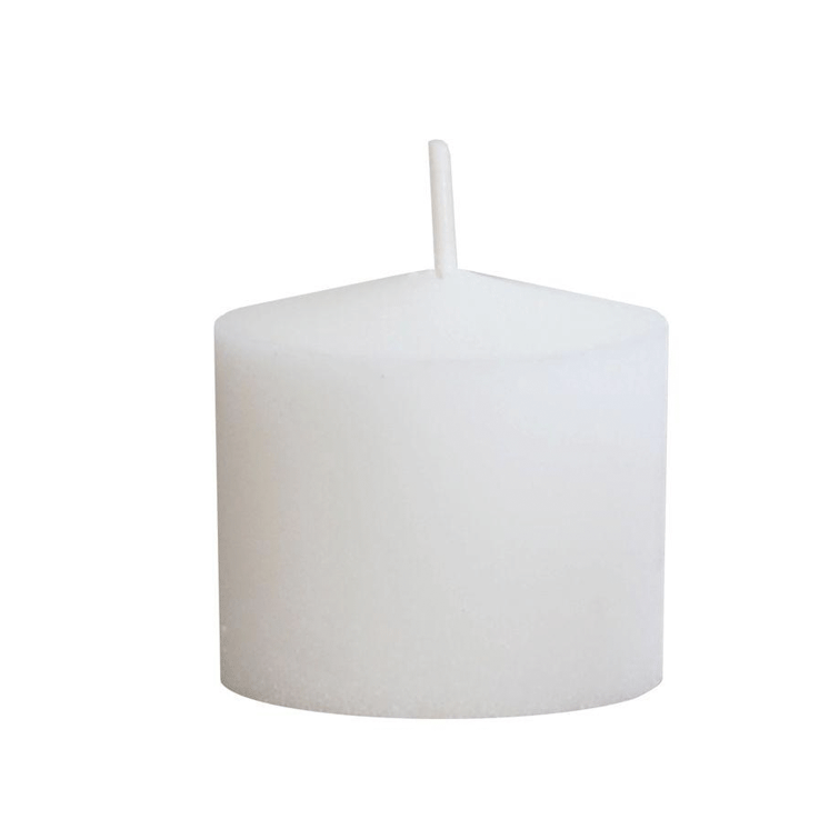 10 Hour Votive Candles - White