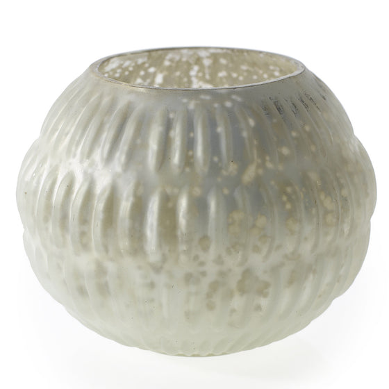 Beverly Frosty Glass Sphere Votive