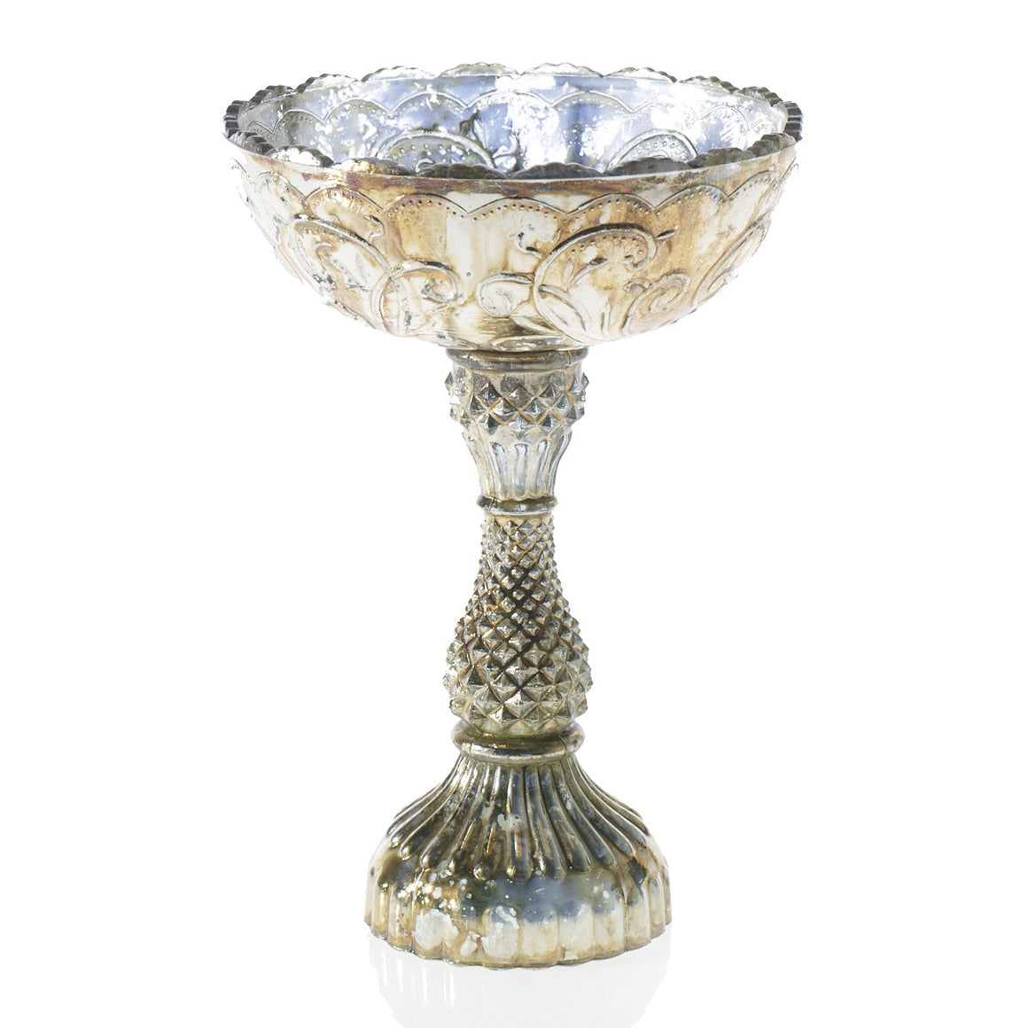 Romance Vintage Cup Bowl with Tall Stand