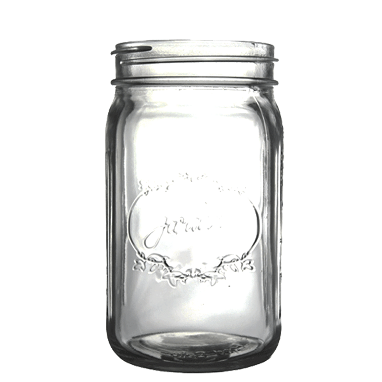 "5.5"" Mason Jar - Clear - Set of 4"