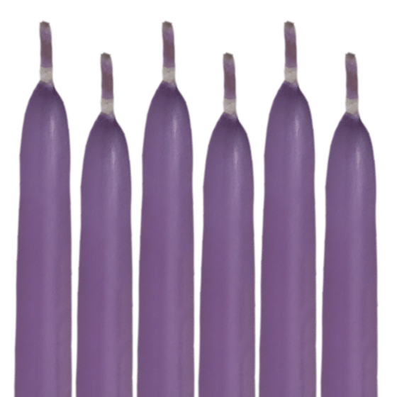 Taper Candles Lavender