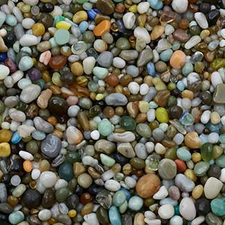 46oz Glass Beads - Natural Beach