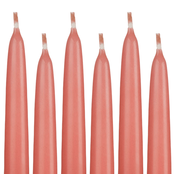 Taper Candles Coral