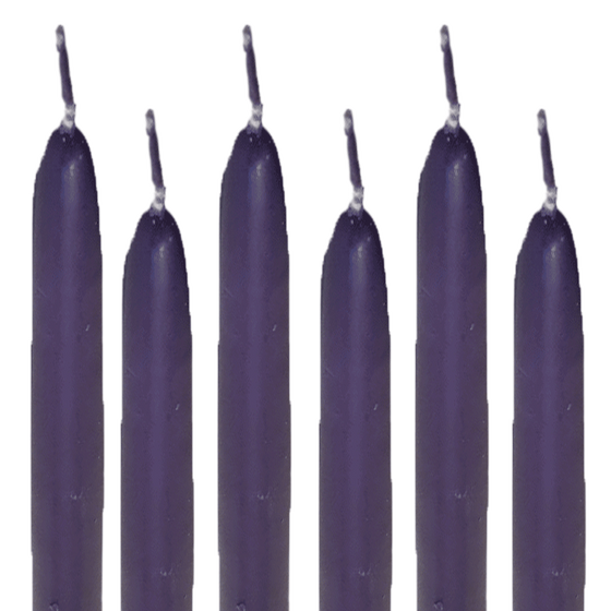 Taper Candles Purple