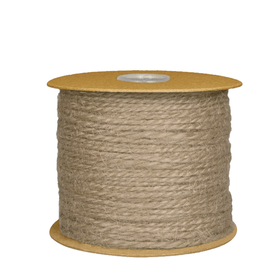 1.5mm Natural Jute Twine - 100 Yards