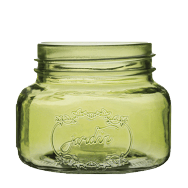 3.5 x 4 inches olive jar
