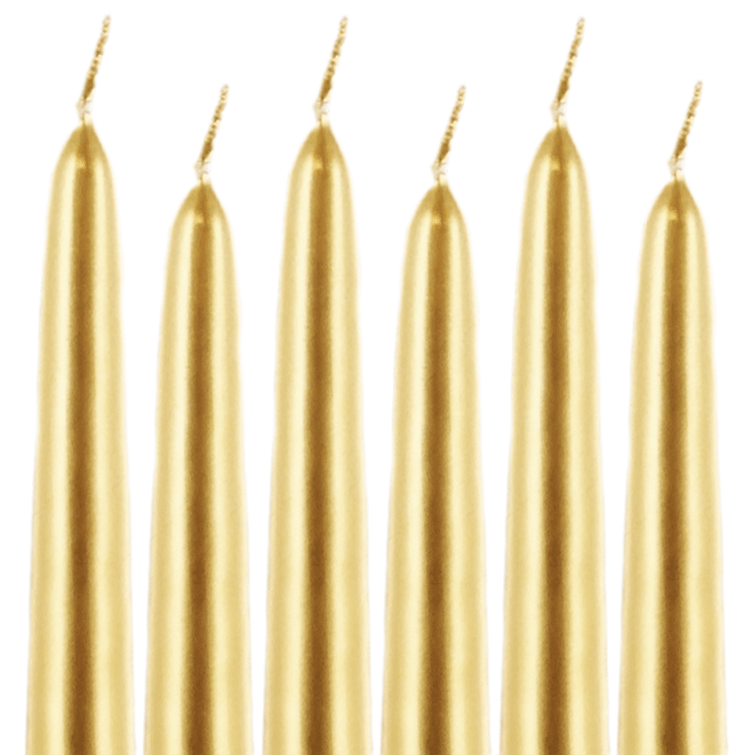 Taper Candles Gold