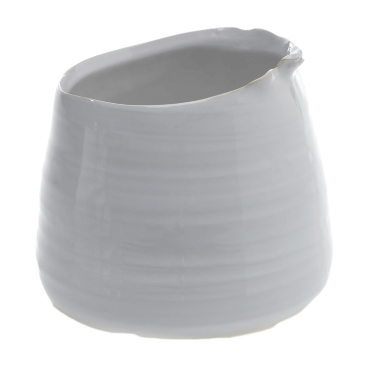 Small Tegan Pot - White