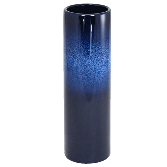 Nageire Ikebana Container - Glossy Dark Blue